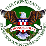 President's Honor Roll for Higher Education Community Service